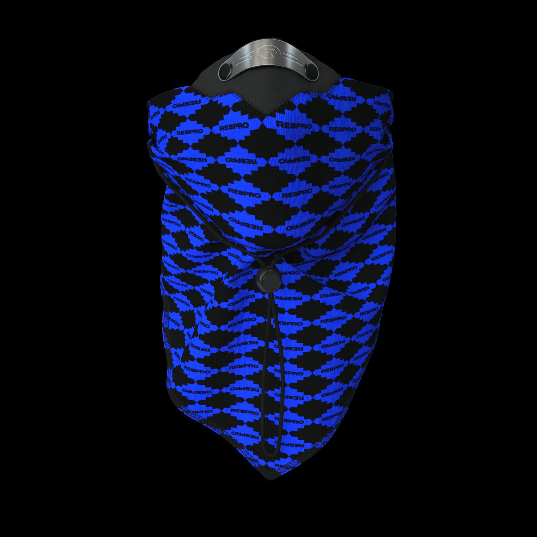 Bandit Scarf - Blue Diamond