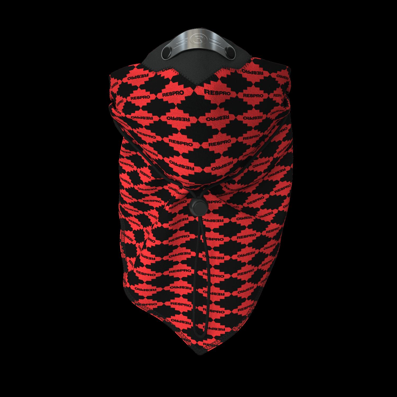 Bandit Scarf - Red Diamond
