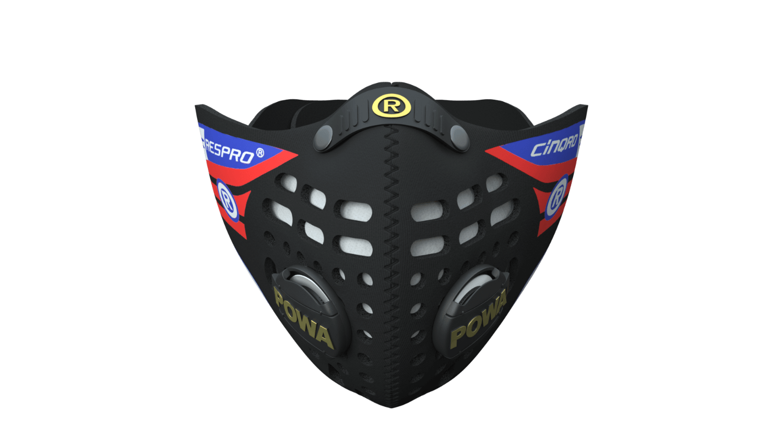 Cinqro Mask - Black