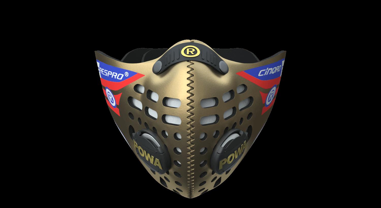 Cinqro Mask - Gold