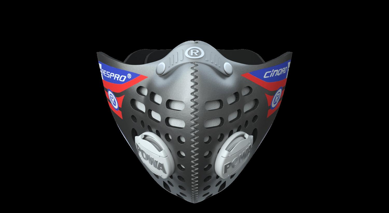 Cinqro Mask - Silver