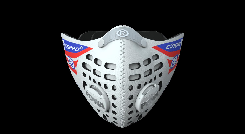 Cinqro Mask - White