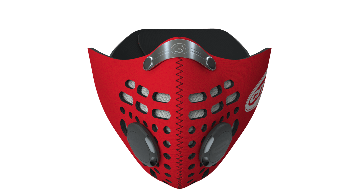 City Mask - Red