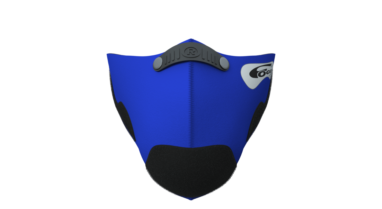 Foggy Mask - Blue