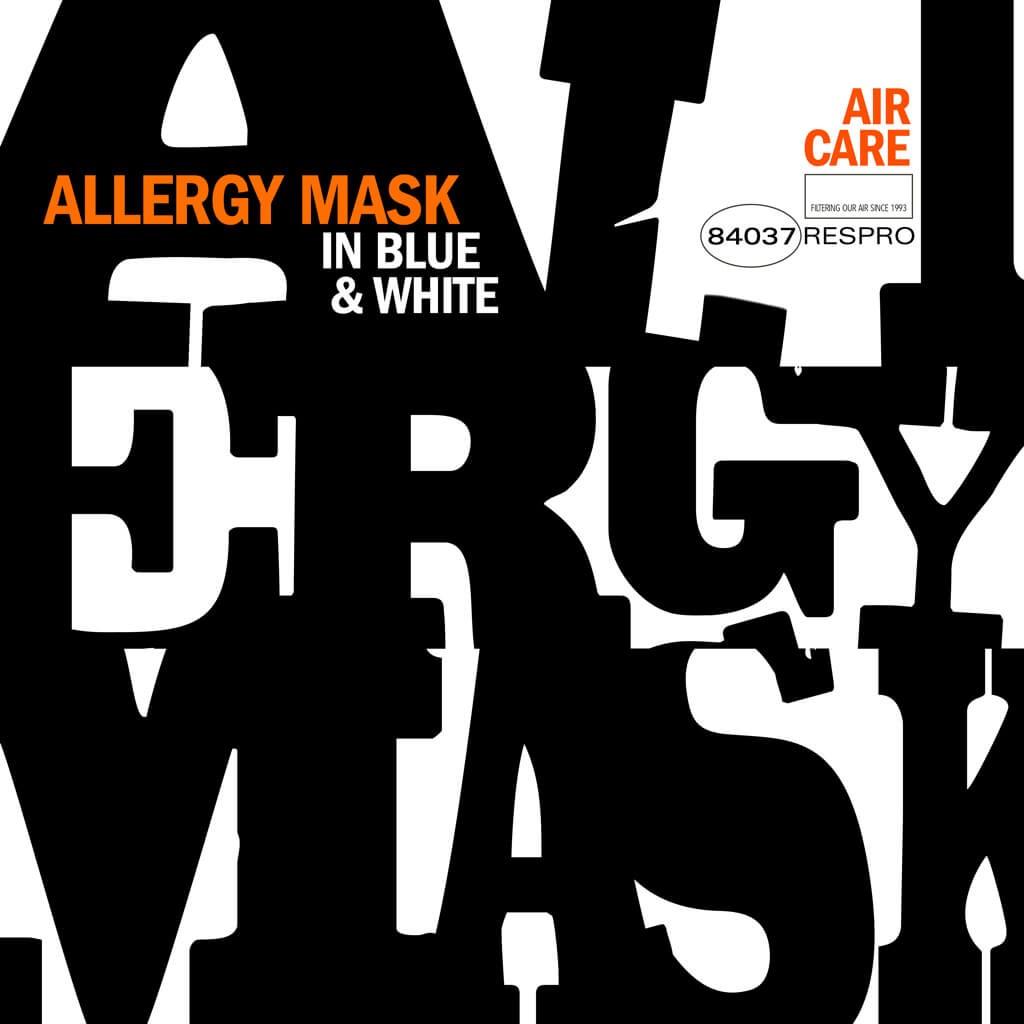 Allergy Mask Bluenote