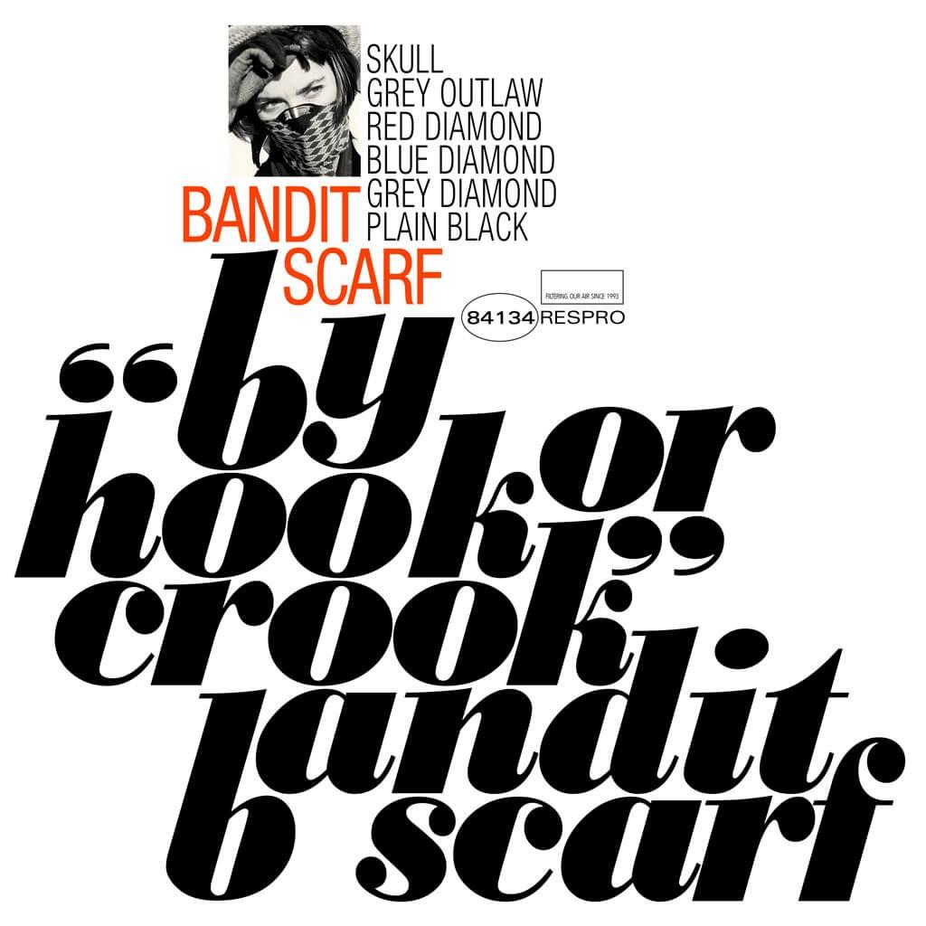Bandit Scarf Bluenote