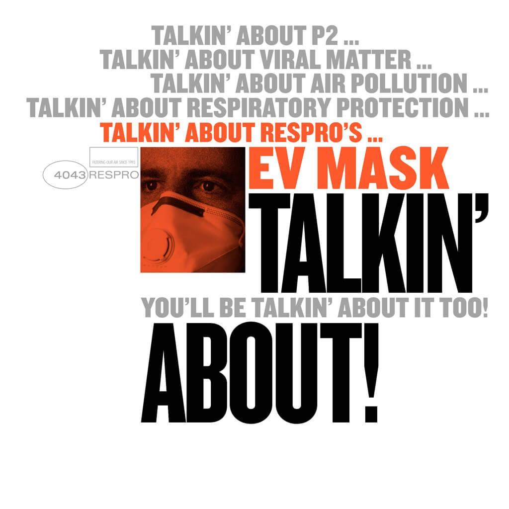 EV Mask Bluenote