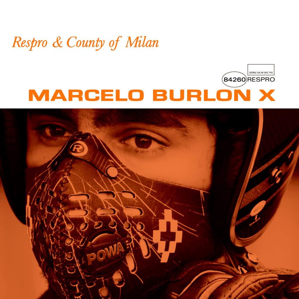 Marcelo Burlon X Bluenote