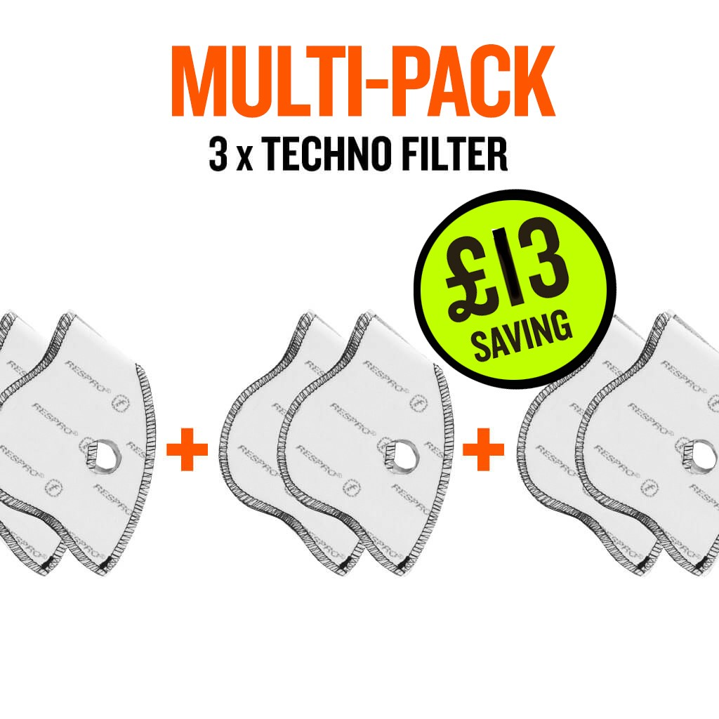 Multi-pack techno x 3 filter