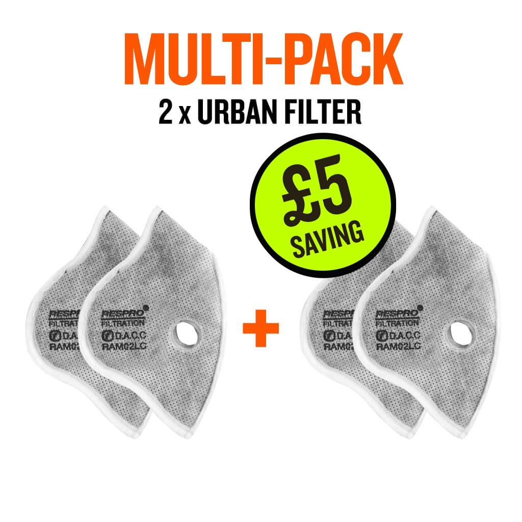 Multi-Pack Urban x 2 Filter