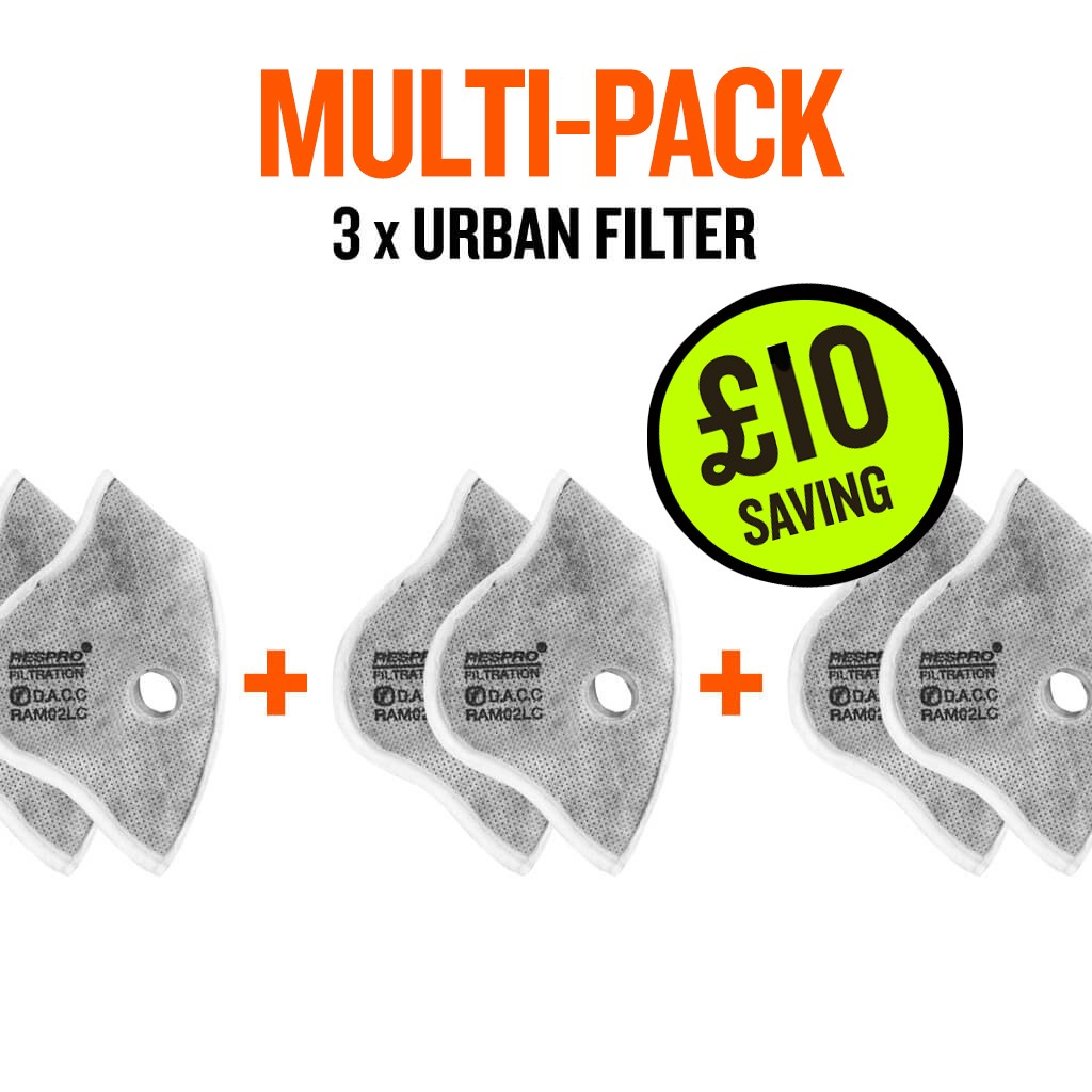 multi-pack urban x 3 filter