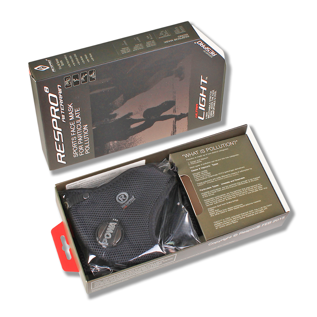 ULTRALIGHT BLACK PACKAGED