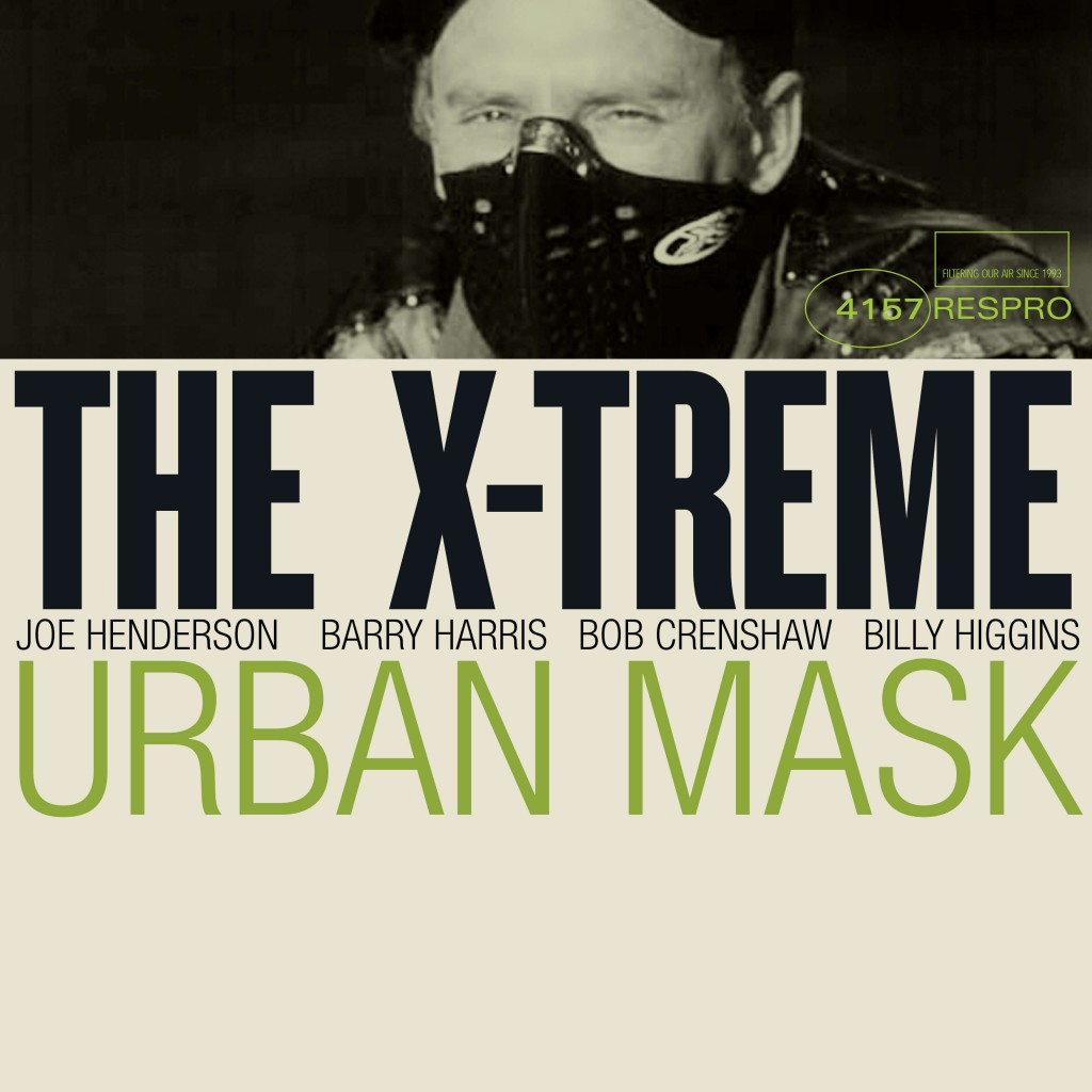 X-treme Urban Mask - TR - Bluenote