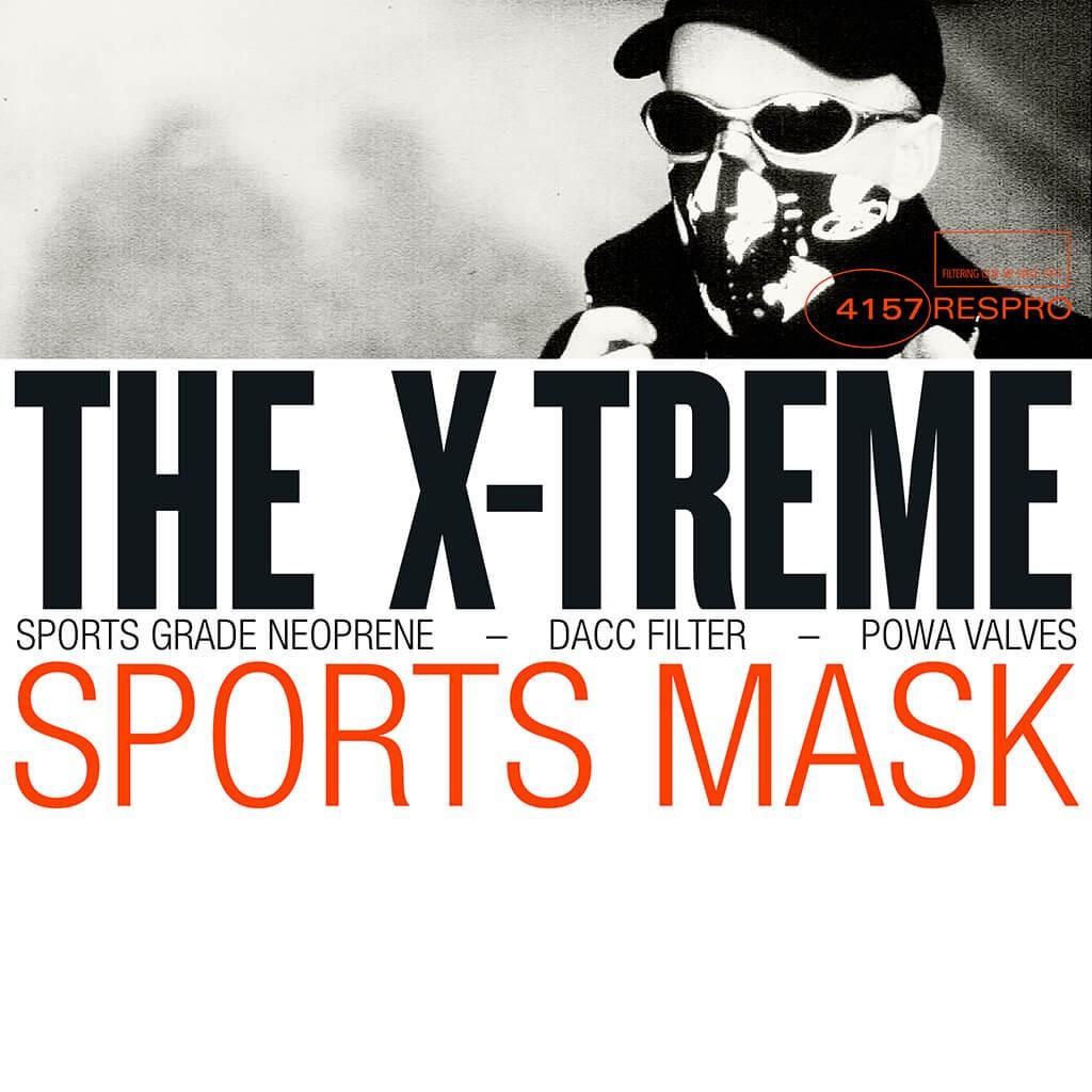 X-treme Sports Mask Bluenote