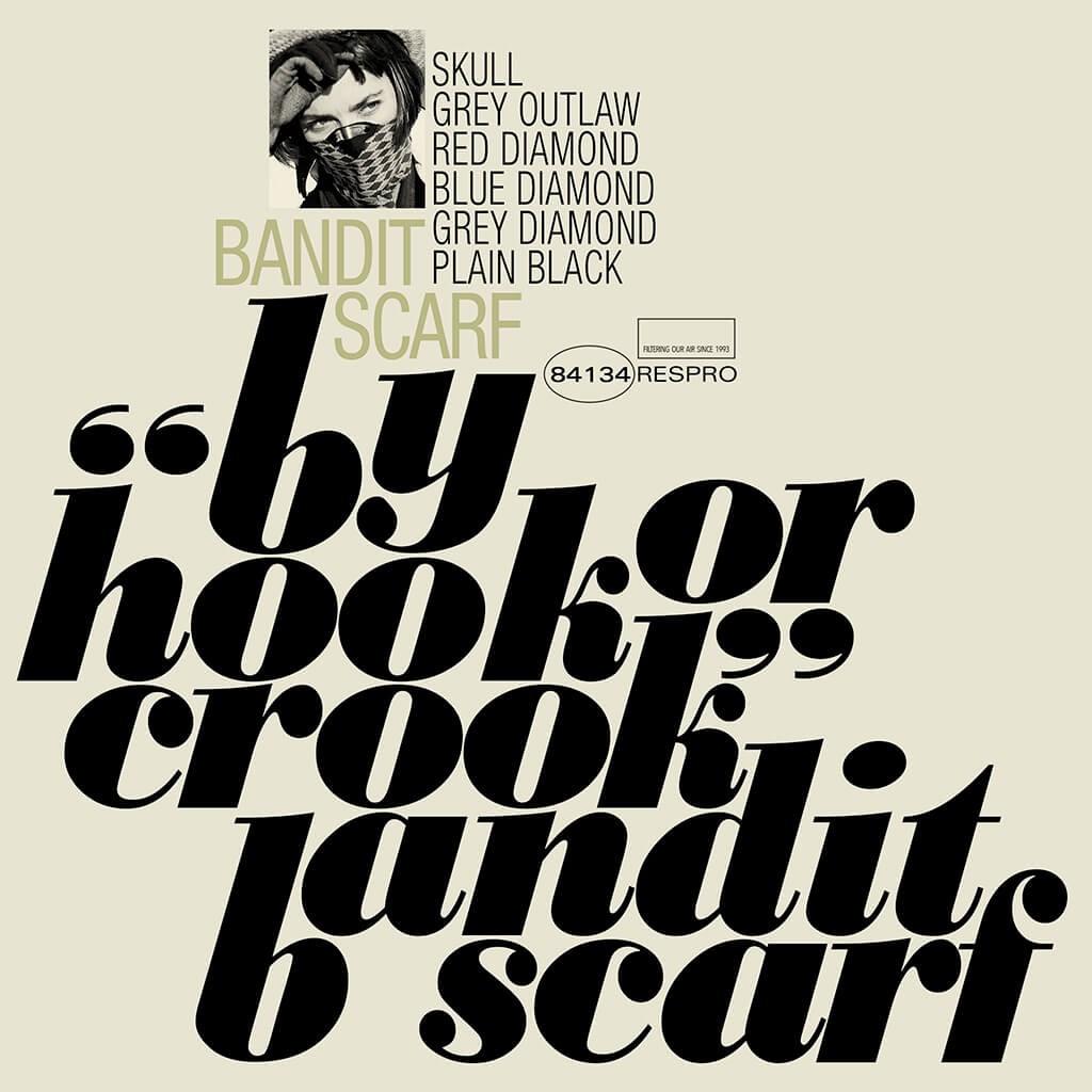 Bandit Scarf Bluenote - TR