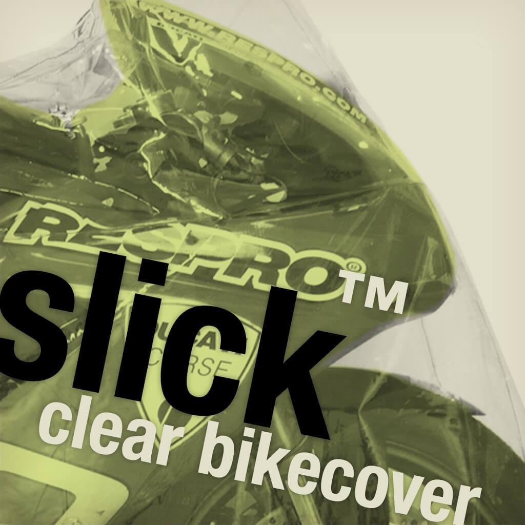 Slick Clear Bike Cover - Cover