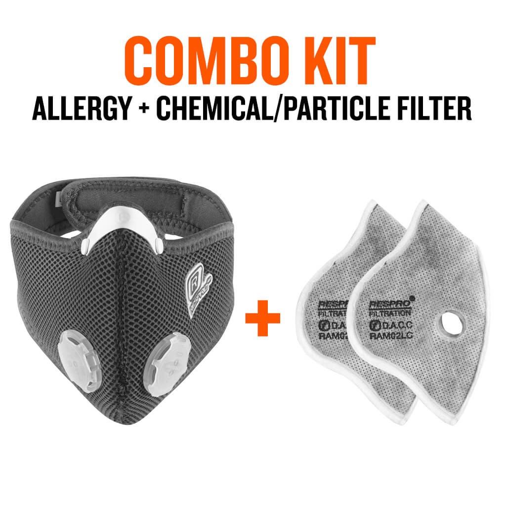 Combo Kit Allergy + Chemical/Particle Filter - Bluenote