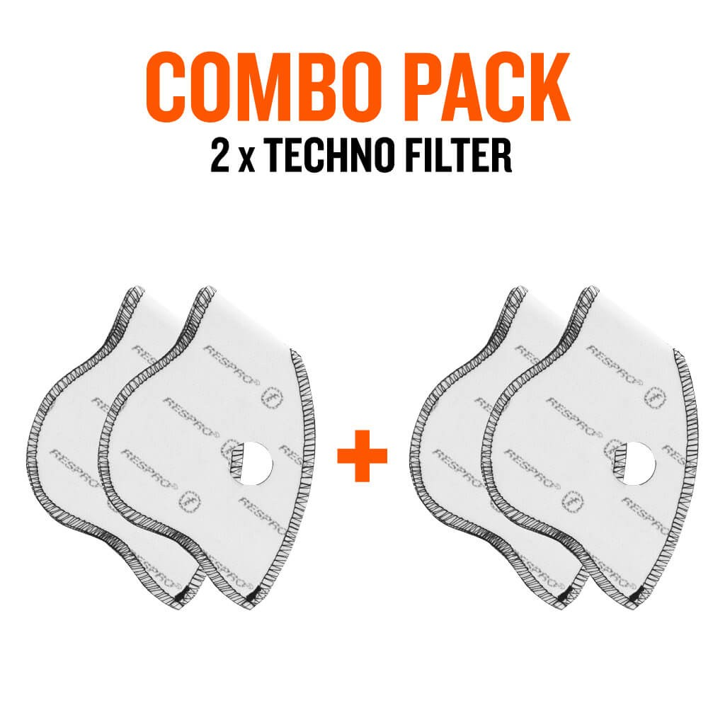 Combo Pack x2 - Techno™ Filters - Bluenote