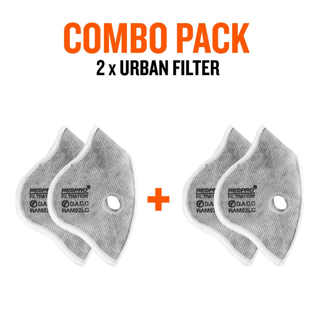 Combo Pack x2 - Cinqro™ Urban Filters - Bluenote