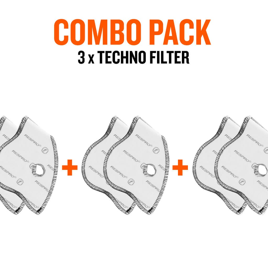 Combo Pack x3 - Techno™ Filters - Bluenote