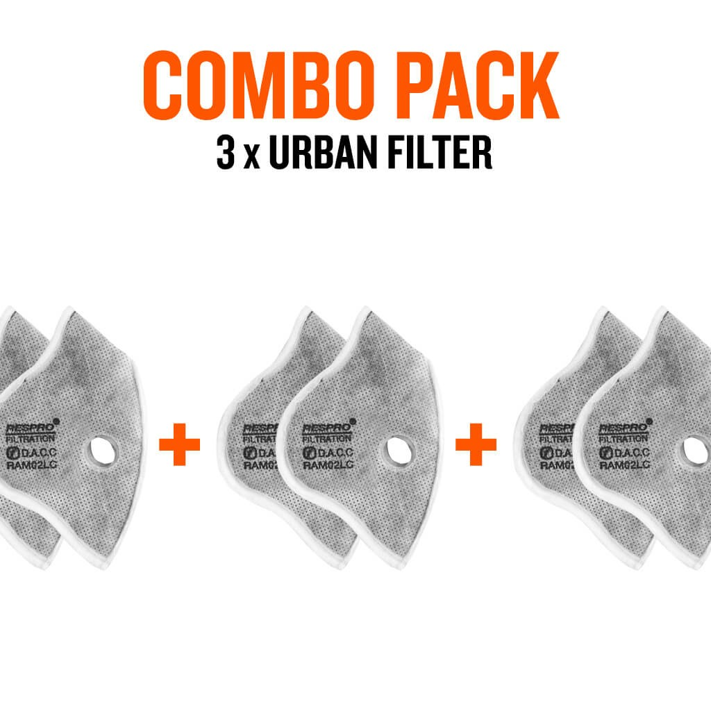 Combo Pack x3 - Cinqro™ Urban Filters - Bluenote
