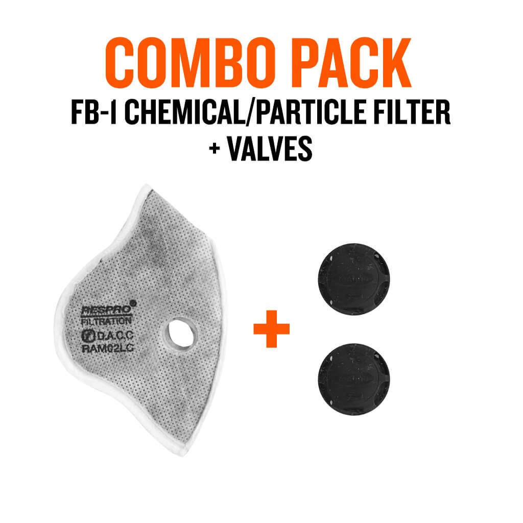 FB-1™ Chemical / Particle with Valves - Bluenote