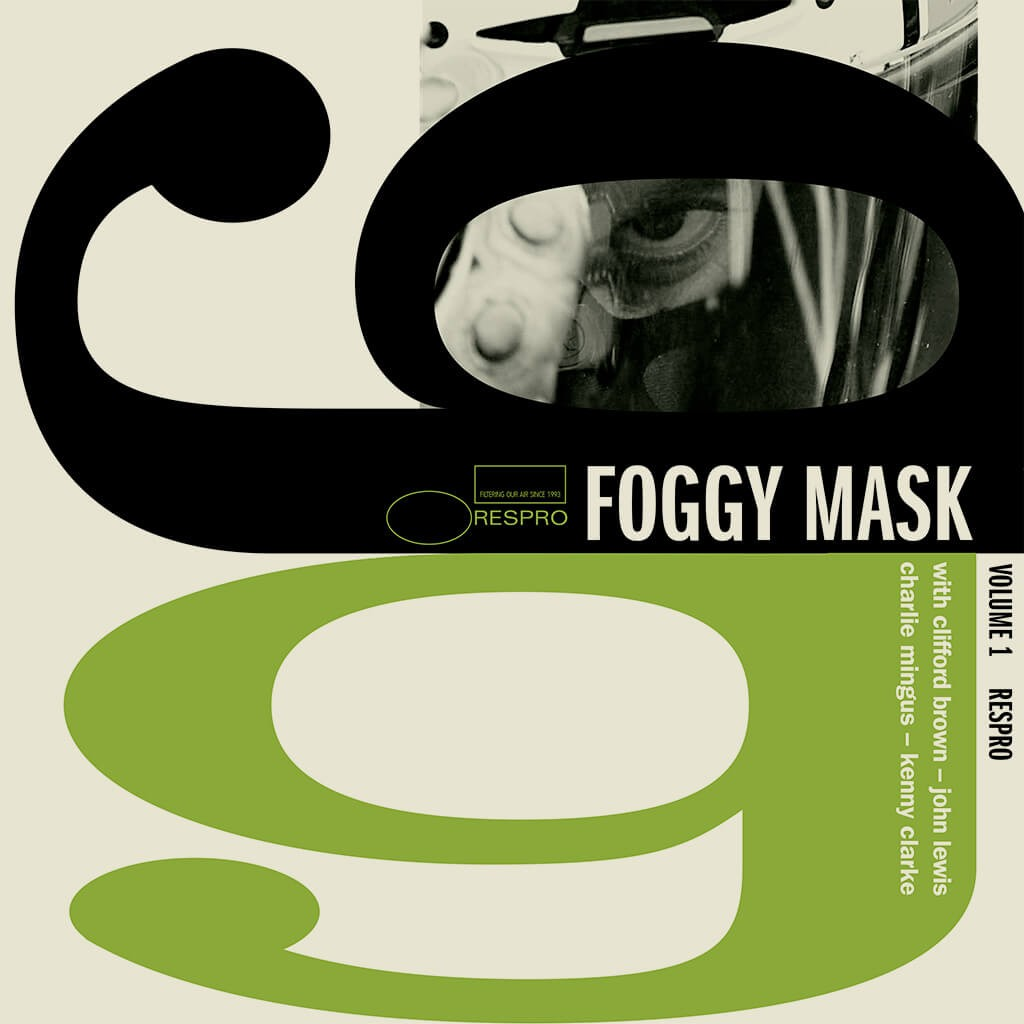 Foggy Faceguard - TR - Bluenote