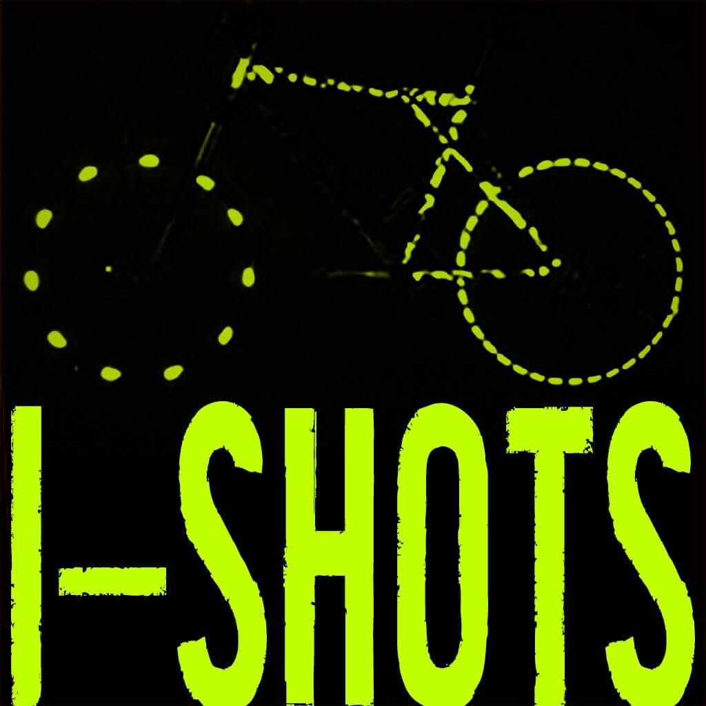 I-Shot Reflective Sticker - Bluenote
