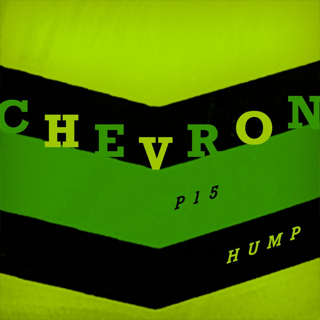P15 Chevron Hump - Bluenote