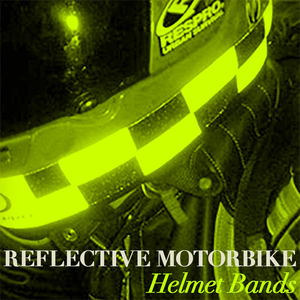 Reflective Helmet Bands - Cover