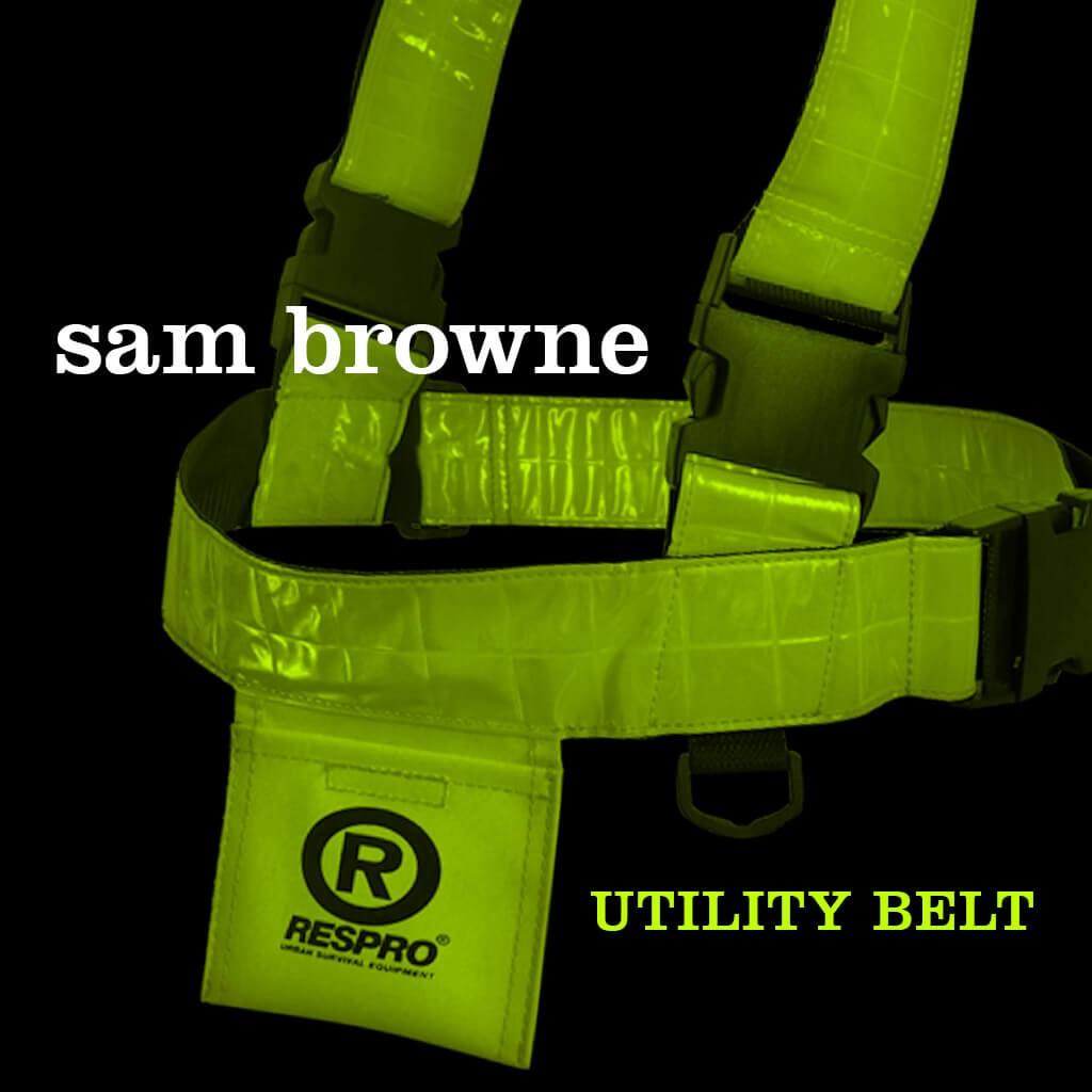 Sam Browne Utility Belt - Bluenote