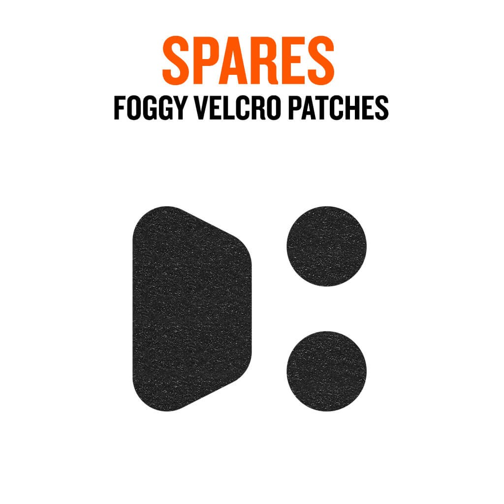 Foggy® Mask Spare Velcro Pack - Bluenote