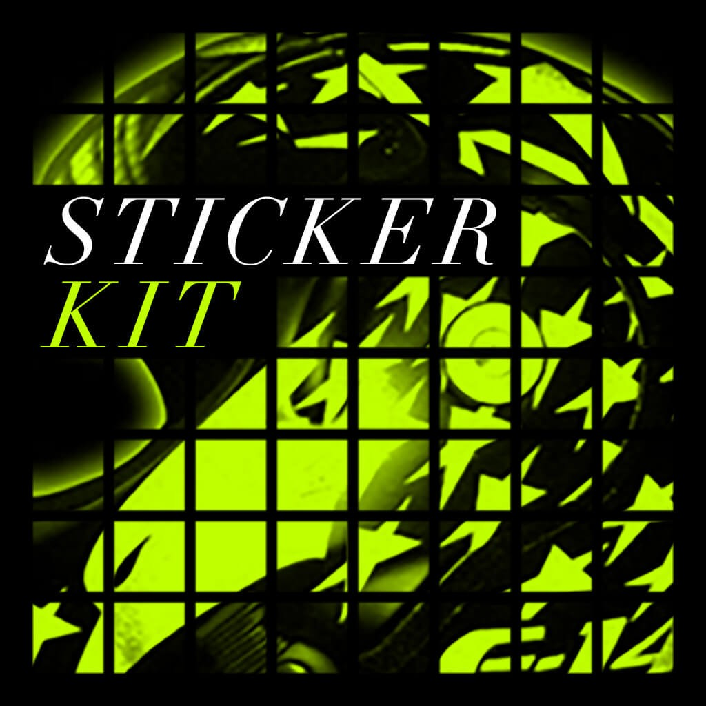 Sticker Kits - Bluenote