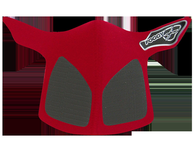 Foggy X Faceguard - Red
