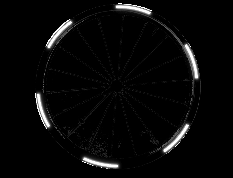 I-Shot Reflective Sticker - Tyre