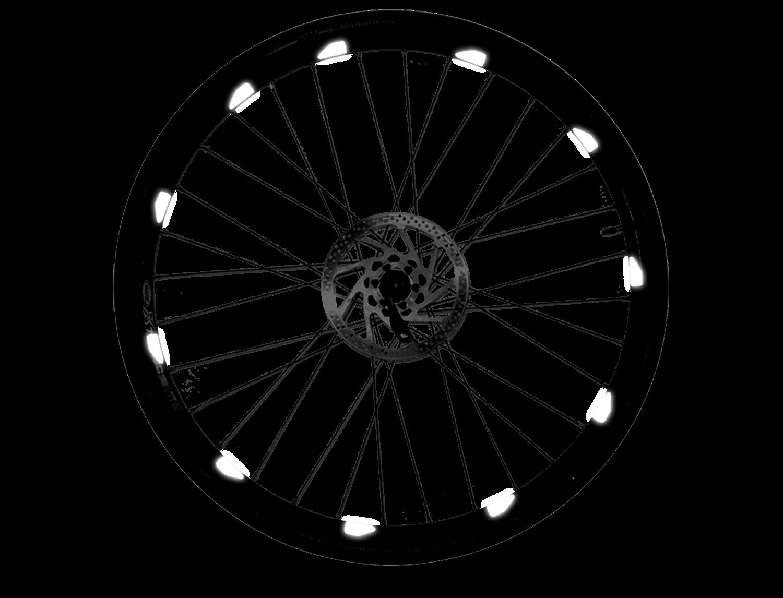 I-Shot Reflective Sticker - Wheel Rim