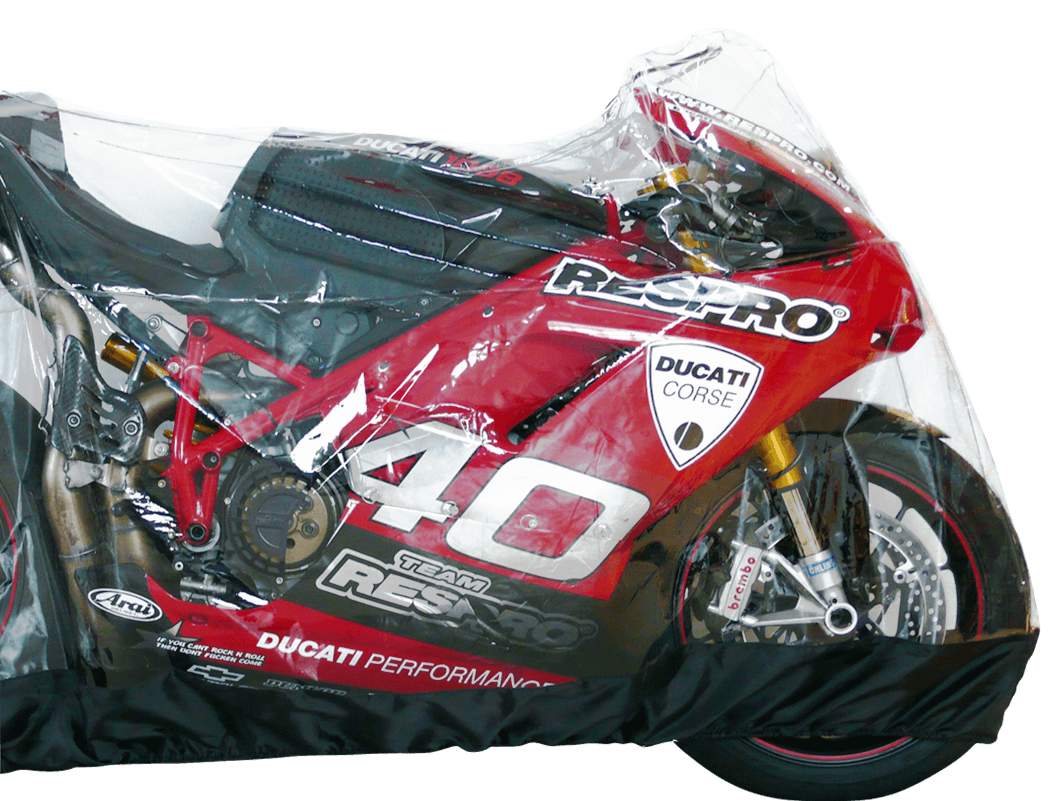 Slick Clear Bike Cover - Product