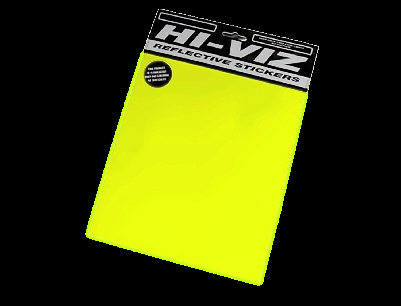 Sticker Kit - Flo Yellow A4 Sheet